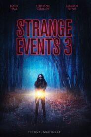 Strange Events 3 2020